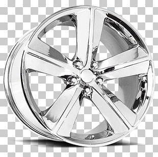 Alloy Wheel Car Spoke Chrome Plating PNG
