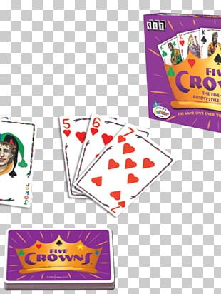 Set Touring Rummy Five Crowns Card Game PNG