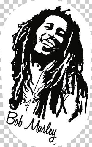 Bob Marley T-shirt Rastafari Reggae One Love/People Get Ready PNG