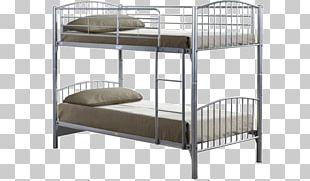 Bed Frame Bunk Bed Metal Mattress PNG