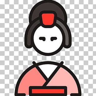 Japan Geisha Icon PNG