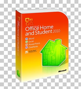 Microsoft Office 2010 Microsoft Corporation Computer Software Microsoft Office Home And Student 2010 PNG