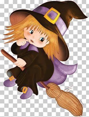 Witchcraft Halloween Cartoon Magic PNG