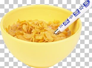 Breakfast Cereal Corn Flakes Food Eating PNG