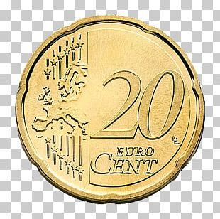 20 Cent Euro Coin Euro Coins PNG