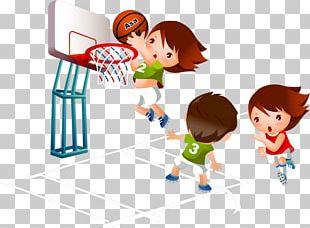 Basketball Cartoon Sport PNG