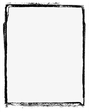Hand-painted Frame Cartoon Frame PNG