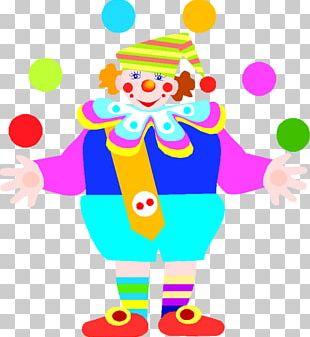 Clown Circus Graphic Arts PNG