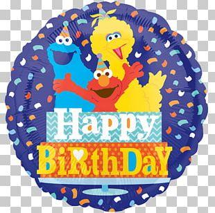 Elmo Big Bird Sesame Place Cookie Monster Balloon PNG