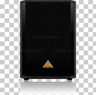 """VocoPro SUB-1500 200W 15"""" Powered Subwoofer Computer Speakers Loudspeaker BEHRINGER Eurolive VP1800S PNG"""