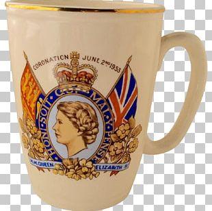 Mug Coronation Of Queen Elizabeth II Coronation Of King George VI And Queen Elizabeth Stock Photography Ceramic PNG