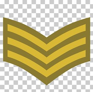 Sergeant Military Rank Chevron Army Officer Non-commissioned Officer PNG