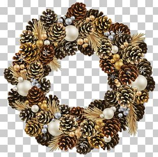 Christmas Ornament Wreath Garland PNG