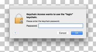 Keychain Access Password Apple MacOS PNG