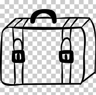 Suitcase Baggage Drawing Travel Hotel PNG