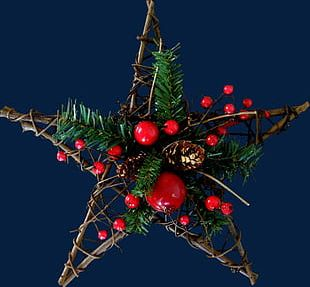 Five-pointed Star Christmas Decoration PNG