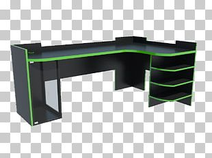 Desk Table Furniture Gamer Computer PNG