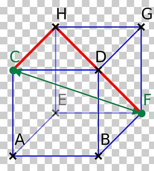Line Point Triangle Diagram PNG