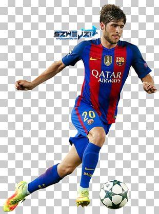 Sergi Roberto Soccer Player 2015–16 FC Barcelona Season UEFA Champions League PNG