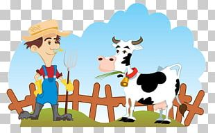 Cattle Farmer Dairy Farming PNG