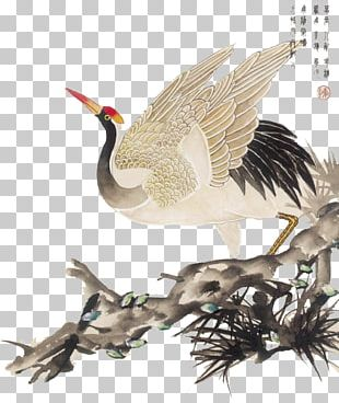 China Chinese Painting Bird-and-flower Painting PNG