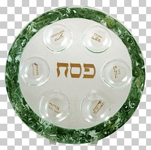 Passover Seder Plate Glass PNG