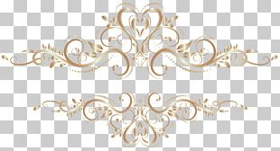 Gold Chemical Element Flower PNG