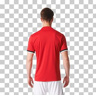 Jersey Adidas Polo Shirt Red PNG