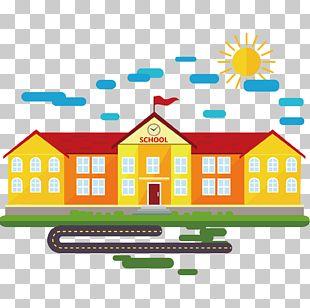 School Cartoon Classroom PNG