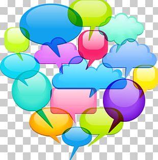 Speech Balloon Dialogue Illustration PNG