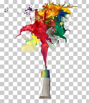 Abstract Art Painting Contemporary Art PNG