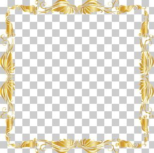 Gold Luxury Pattern PNG