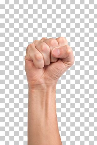 Raised Fist Stock Photography PNG