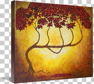 Gallery Wrap Art Painting Acrylic Paint Canvas PNG