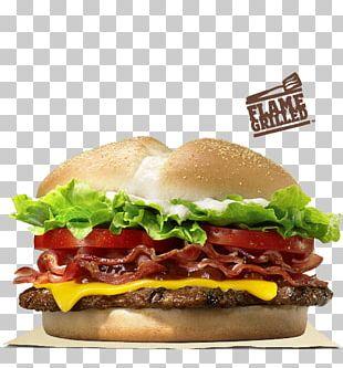 Cheeseburger Whopper Hamburger Bacon PNG
