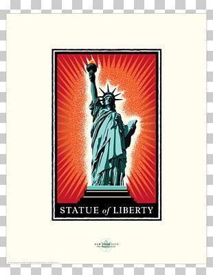 Statue Of Liberty Charging Bull Landmark Sculpture Art PNG