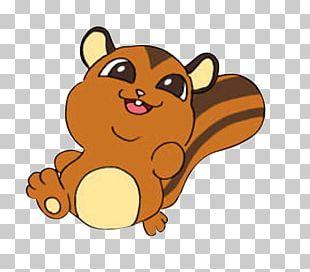 Squirrel Cartoon PNG