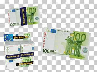 Gift 100 Euro Note Money Pencil PNG