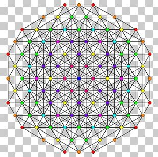 Fractal Sacred Geometry Circle Structure PNG