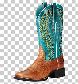Ariat Cowboy Boot Footwear Riding Boot PNG