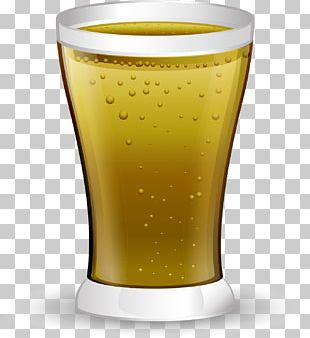 Beer Glassware Pint Glass Drink PNG