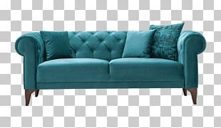 Loveseat Couch Sofa Bed Furniture Armrest PNG