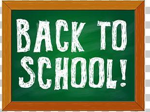 School Blackboard Board Of Education PNG