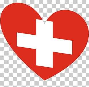 Flag Of Switzerland Heart Symbol PNG