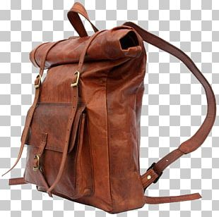 Backpack Leather Travel Bag Fashion PNG