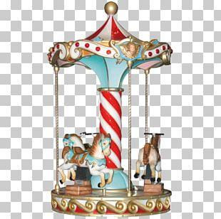 Carousel Amusement Park Kiddie Ride Horse Video Game PNG