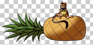 Pineapple Insect Legendary Creature Animated Cartoon PNG