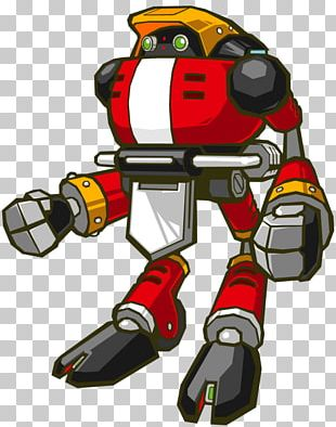E-102 Gamma Sonic Battle Doctor Eggman Knuckles The Echidna Sonic Chaos PNG