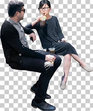 Sitting People PNG