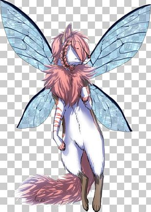 Fairy Insect Costume Design PNG